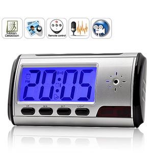 Digital spy camera clock remote control motion detection