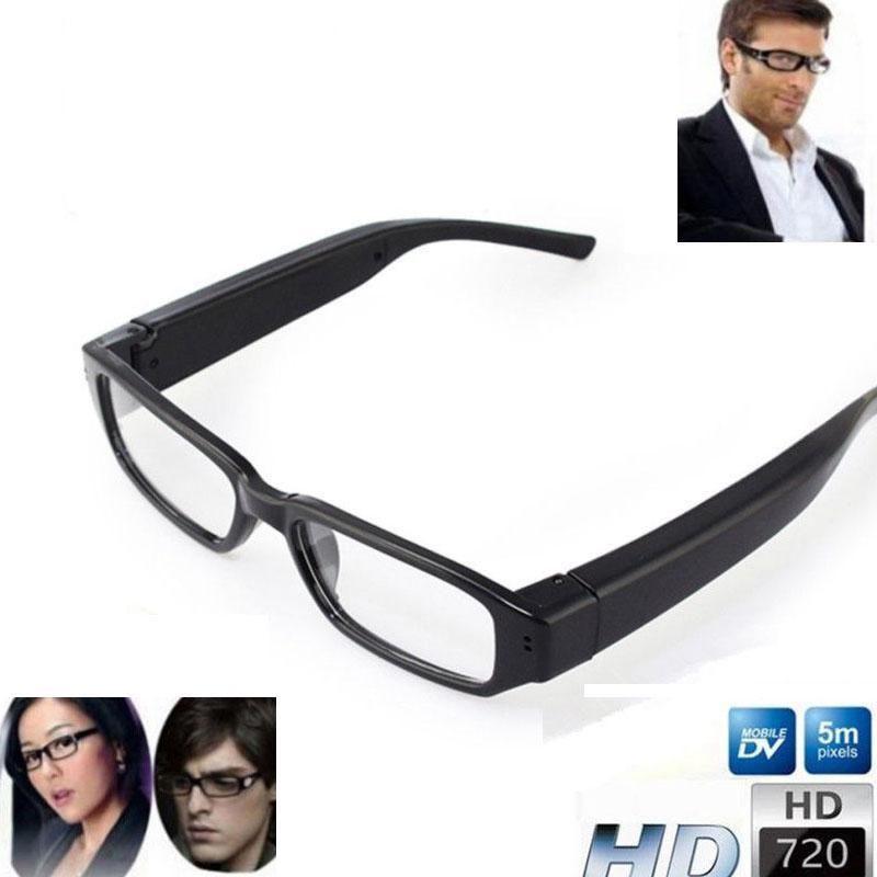 HD Camcorder Glasses Camera DVR Digital Video Recorder Eyewear